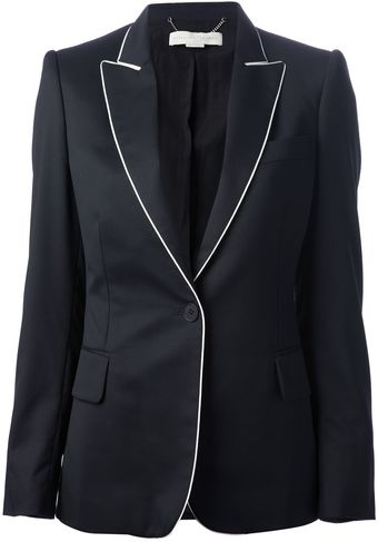 Stella McCartney Fitted Blazer - Lyst