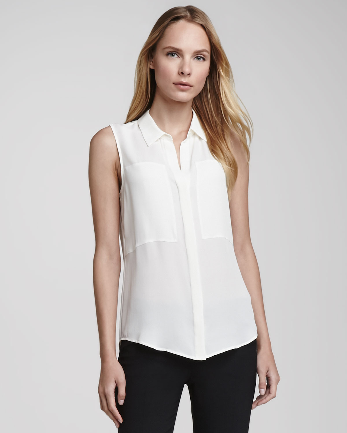 Shop for white sleeveless blouse online at Target. Free shipping on purchases over $35 and save 5% every day with your Target REDcard.