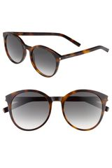 Yves Saint Laurent 54mm Retro Sunglasses - Lyst