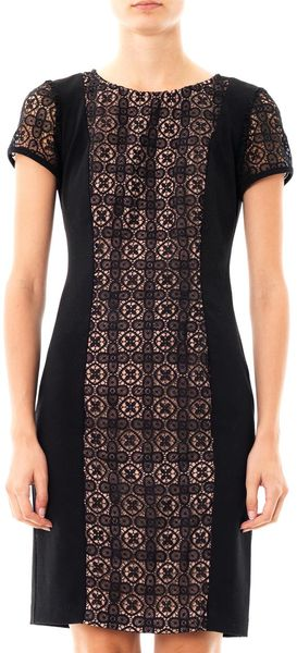 Collette By Collette Dinnigan Grenada Lace Panel Dress - Lyst