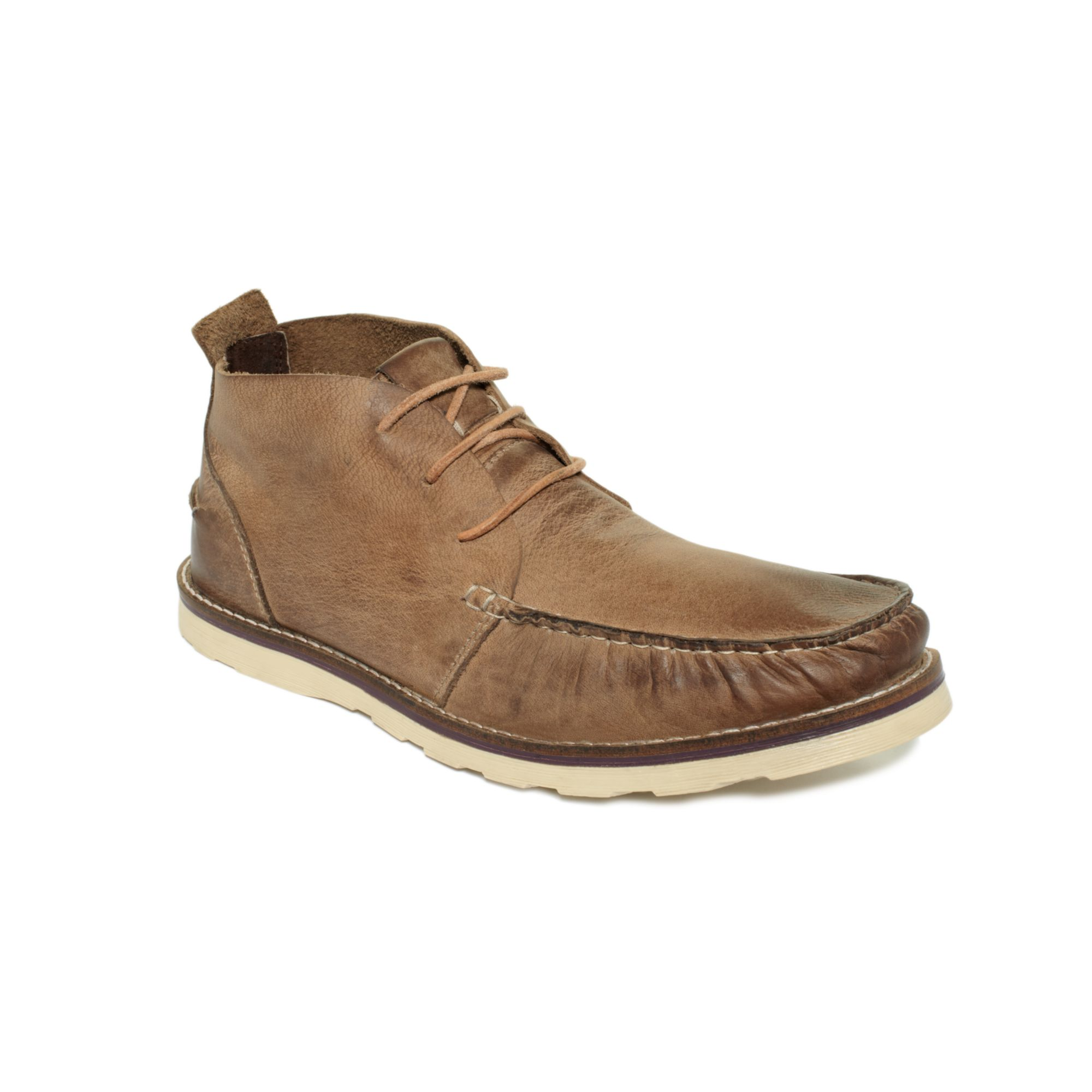 kenneth cole reaction facts chukka boots in brown for