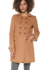 Marc By Marc Jacobs Nicoletta Wool Military Coat - Lyst