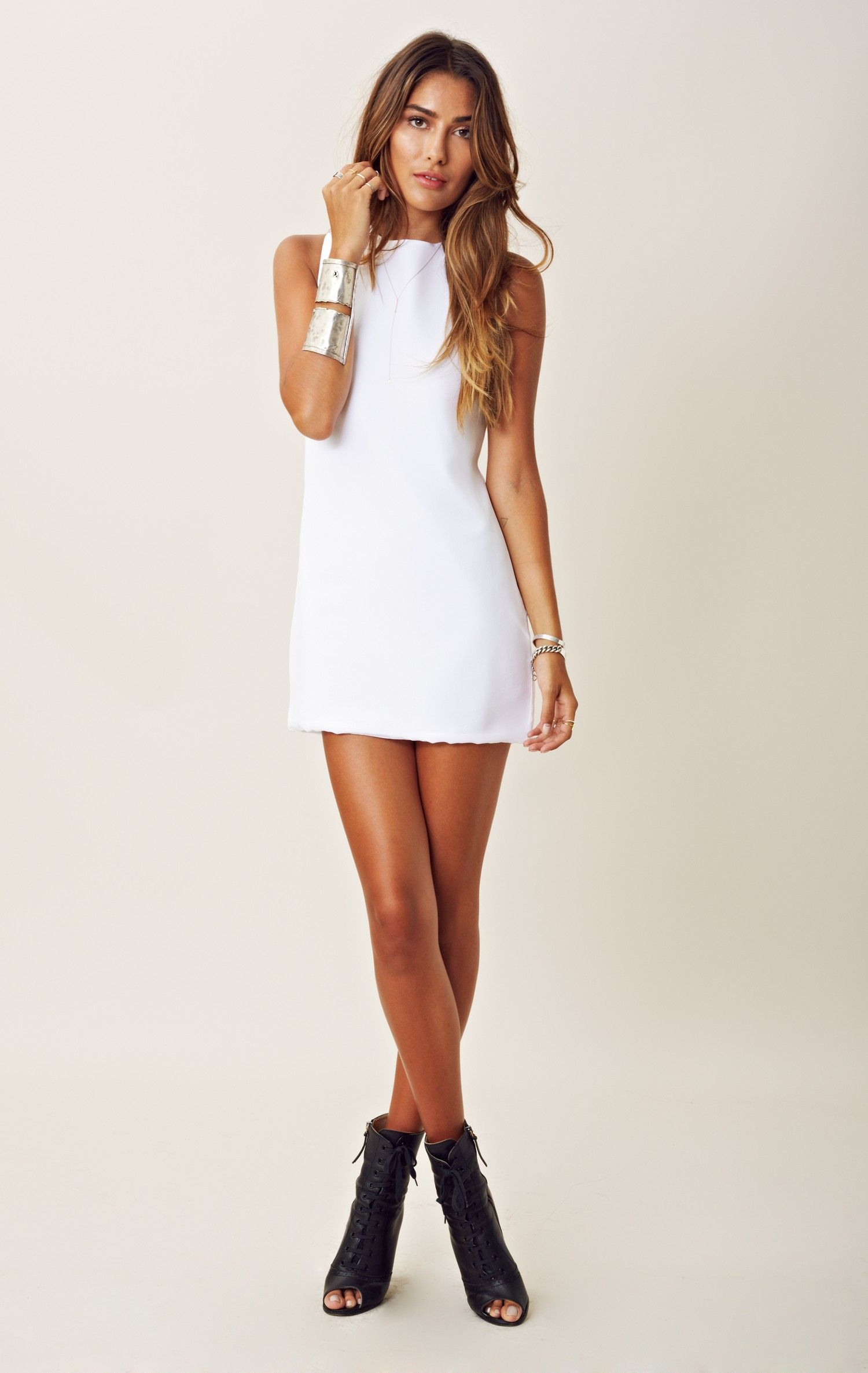 Https Www Lyst Com Clothing Naven Twiggy Dress White