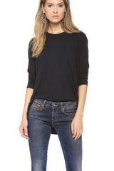 Theory Long Sleeve Top - Lyst