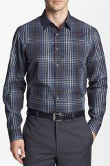 Michael Kors Noel Check Regular Fit Sport Shirt - Lyst
