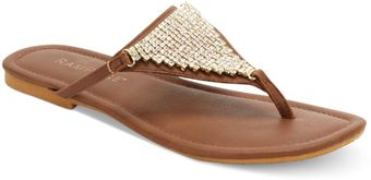 Rampage Rivera Thong Sandals - Lyst
