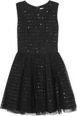 RED Valentino Sequined Mesh Dress - Lyst