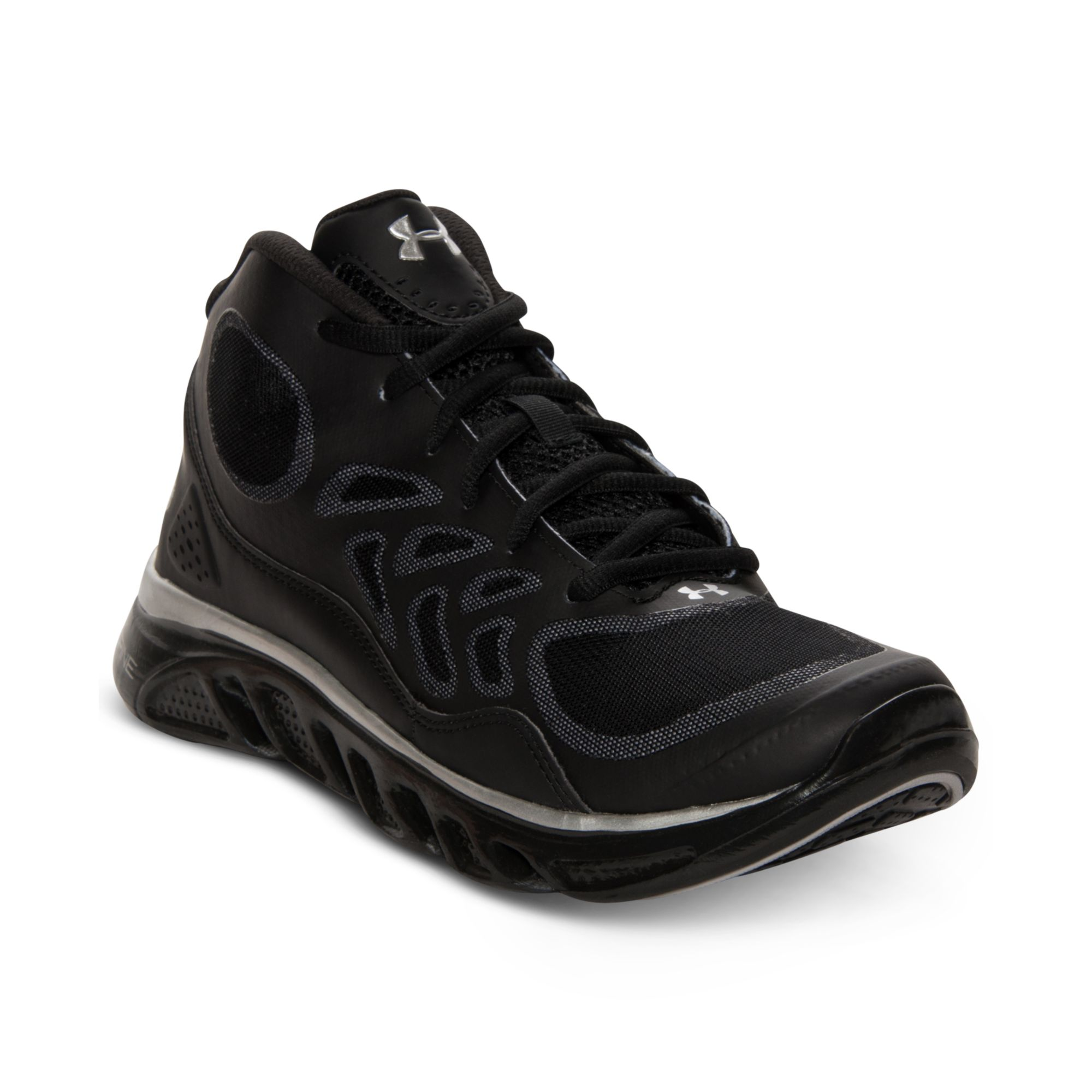 lyst under armour gameday trainer sneakers in black for men