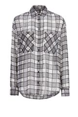 Mango Lightweight Check Shirt - Lyst