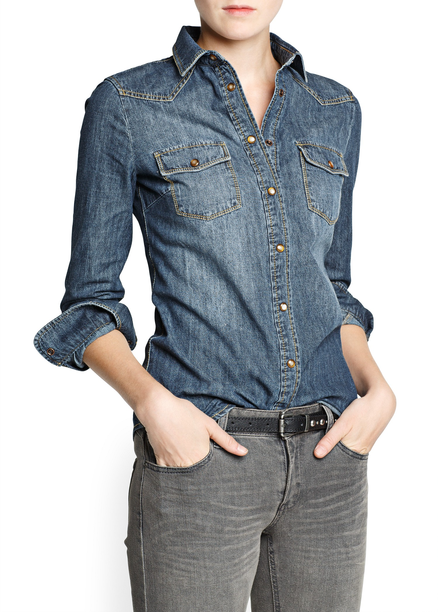How to Use Denim Shirt