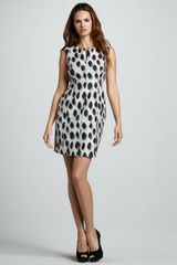 Diane Von Furstenberg New Summer Animal Dots Minidress - Lyst