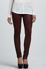 Graham & Spencer Leather Skinny Pants - Lyst