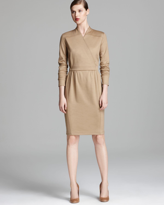 Lyst Max Mara Jersey Dress Palk In Brown