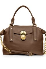 Michael by Michael Kors Medium Hamilton Slouchy Satchel - Lyst