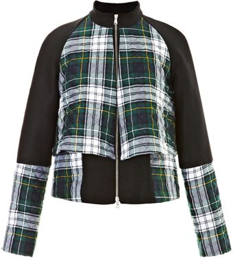 Suno Double Layer Quilted Wool Jacket - Lyst