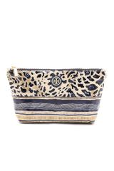 Tory Burch Small Slouchy Cosmetic Case - Lyst