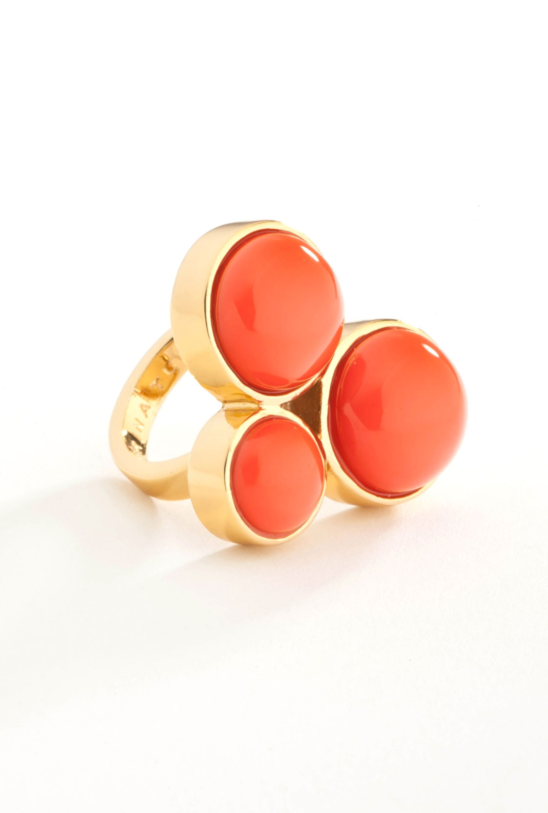 Orange Bubble Ring