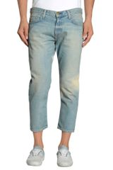 Current/Elliott Denim Pants - Lyst