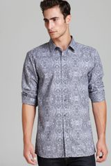 Hugo Boss Hugo Elisha Patterned Sport Shirt Slim Fit - Lyst