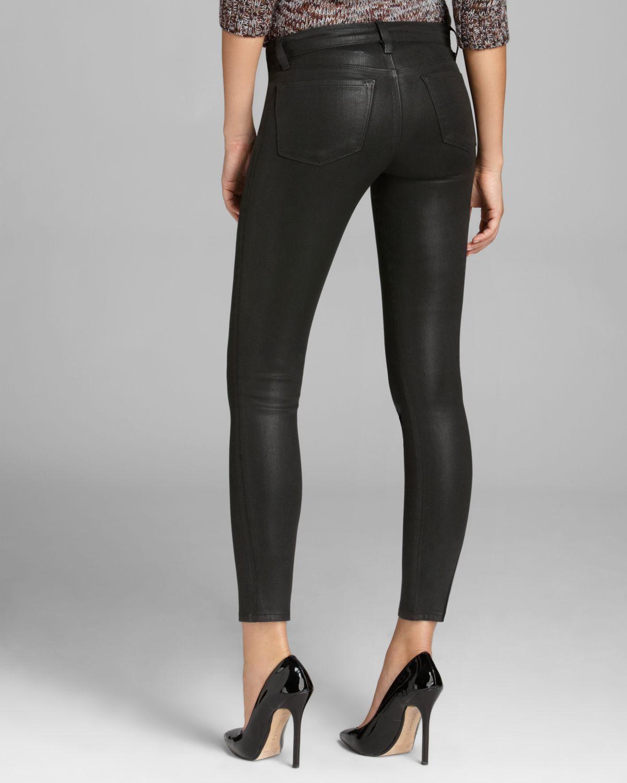 J brand super skinny black jeans