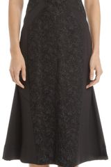 J. Mendel Peplum Hem Sheath Dress - Lyst