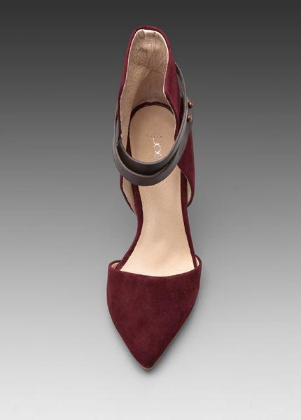 Joe S Jeans Laney Heel In Burgundy In Red Burgundy Lyst