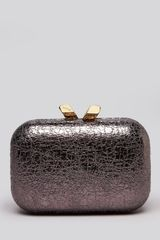 Kotur Clutch Margo Crinkled Metallic - Lyst