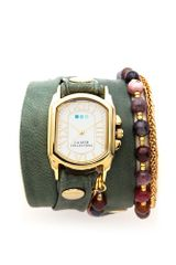 La Mer Collections Chateau Beaded Wrap Watch - Lyst