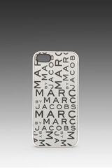 Marc By Marc Jacobs New Jumble Lenticular Phone Case in Metallic Silver - Lyst