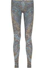 McQ by Alexander McQueen Printed Stretch Jersey Leggings - Lyst