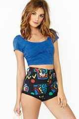 Nasty Gal Yes Denim Shorts - Lyst
