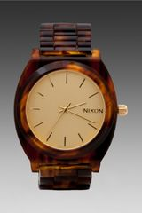 Nixon The Time Teller in Brown - Lyst
