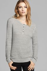 Rag & Bone Top The Belarus Henley - Lyst