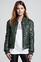 Rebecca Minkoff Nova Quilted Leather Jacket - Lyst