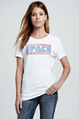 Rebecca Minkoff Galactic Graphic Cotton Tshirt - Lyst