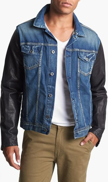 Denim Jacket Leather Sleeves Men 5 Reviews. there are even women that are engaged in collectingDenim jacket leather sleeves menand have a collection of the dresses in different designs, color and styles and so hereffil53.cf are made from refined cotton which will give them a contented feel. purchase many fashionableDenim jacket leather sleeves menin this article with your own .