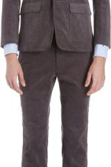 Thom Grey Corduroy Two Button Sport Coat - Lyst