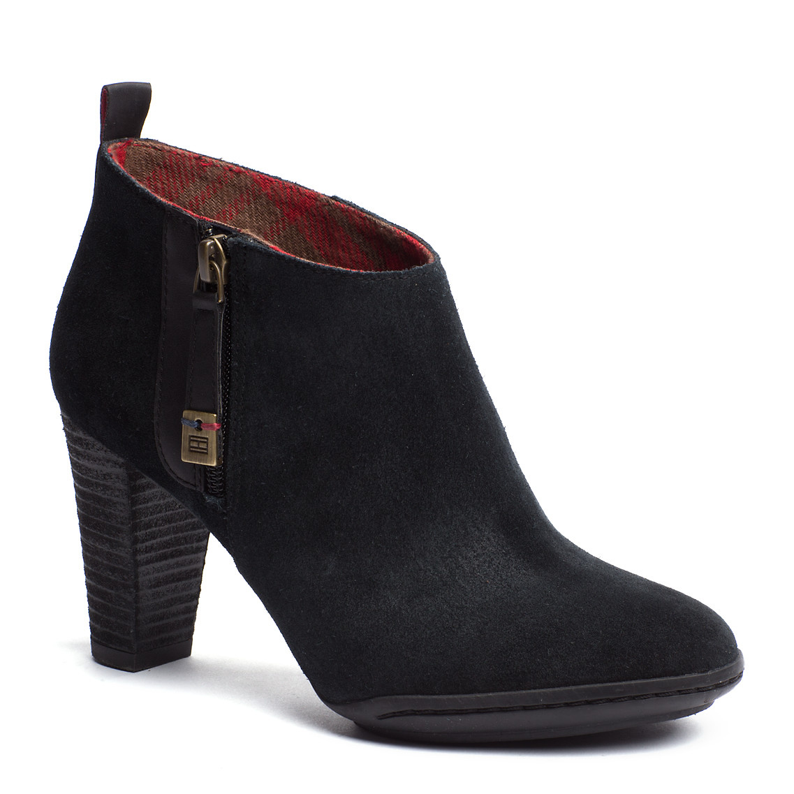 tommy hilfiger nicole ankle boots in black lyst. Black Bedroom Furniture Sets. Home Design Ideas