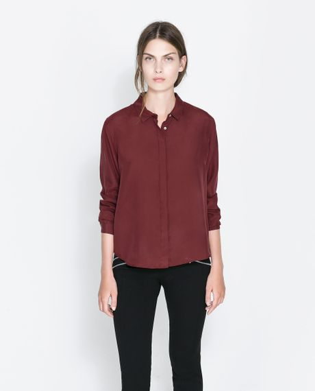 Zara Silk Blouse 44