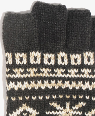 Lyst - Forever 21 Fair Isle Fingerless Gloves in Gray for Men