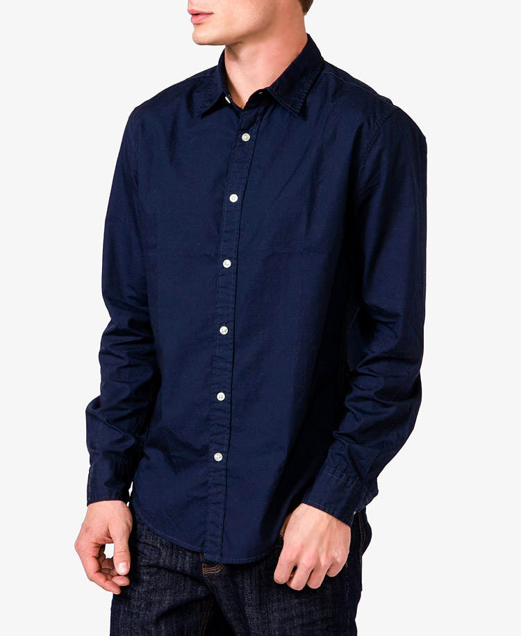 Forever 21 Fitted Dress Shirt in Blue for Men | Lyst