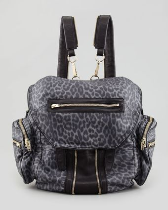 Alexander Wang Marti Convertible Leopardprint Backpack - Lyst
