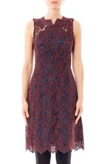 Carven Cornelis Lace Dress - Lyst