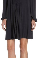 David Szeto Ruched Tunic Dress - Lyst