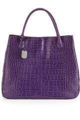 Furla Giselle Large Bucket Tote Bag Purple - Lyst