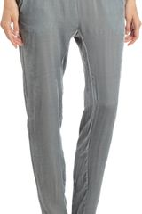 Girl. By Band Of Outsiders Velvet Slouchy Pant - Lyst