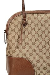 Gucci Bag Bree Dome Gg Leather in Brown (beige) - Lyst