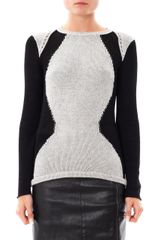 Helmut Lang Obstructed Borders Sweater - Lyst