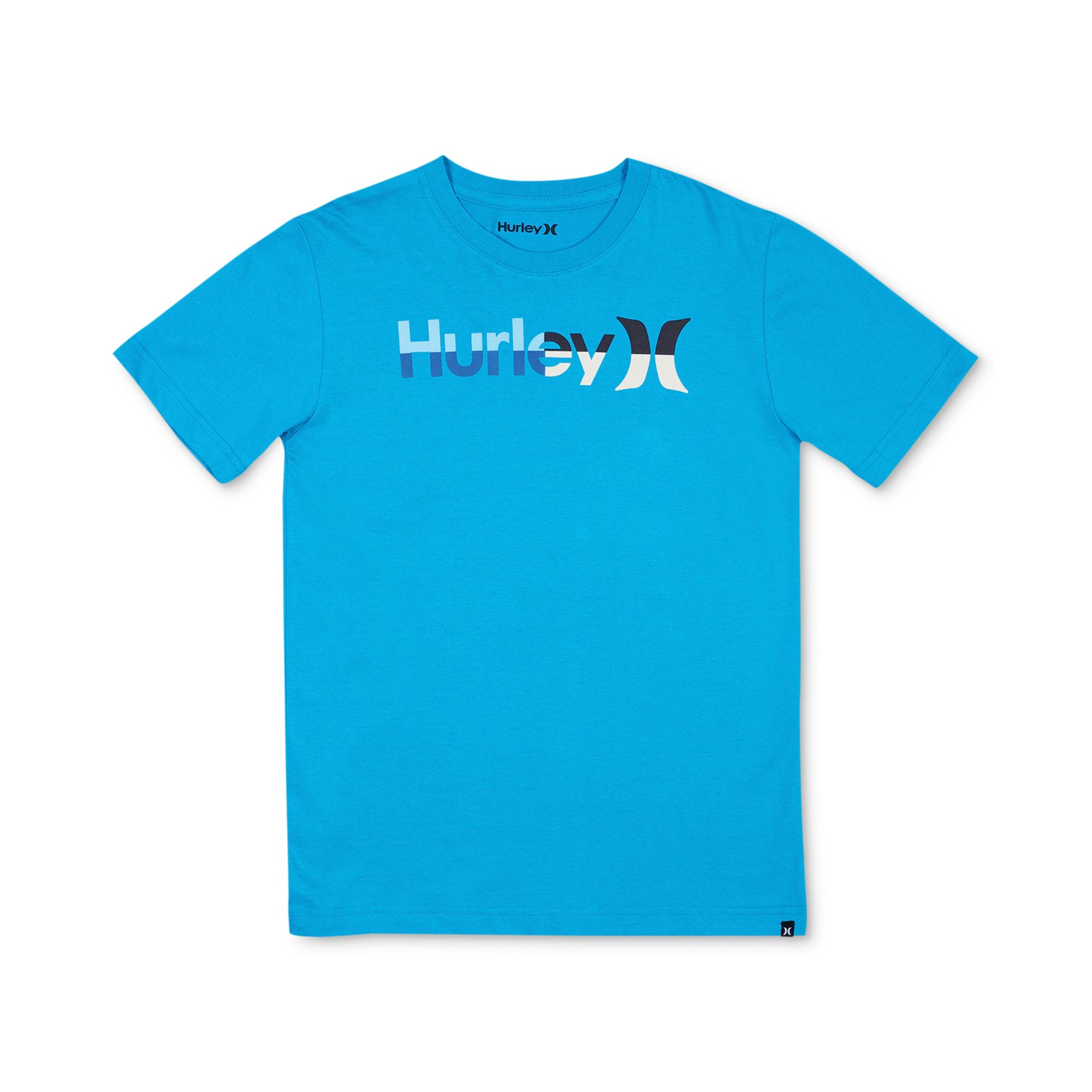 Lyst Hurley Boys Logo Graphic Tee in Blue for Men