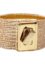 Kara Ross Turn Lock Wrap Desert Lizard Cuff - Lyst